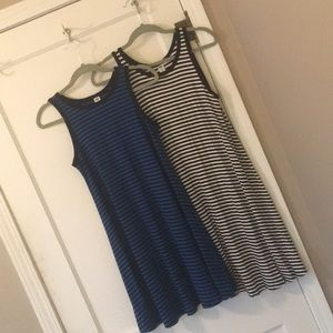 Two Old Navy tank dresses